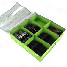 Periea underbed shoe storage organiser shoe box STRONG with lid, soloution
