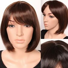 Short Hairstyle Full Wigs Black Brown Blonde Curls Wave Heat Resistant Daily Wig