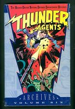 Thunder Agents Archives Volume 6 ~ T.H.U.N.D.E.R. AGENTS ~ Hardcover ~ DC
