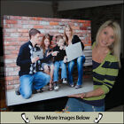 Your Photo/s on to Personalised BOX FRAMED Canvas Prints A5 A4 A3 A2 A1 A0