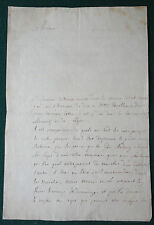 Seven Years War Marshall Chernyshov to Prince Charles Austria 1757 Signed Letter