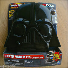 ANGRY BIRDS STAR WARS Darth Vader Pig CARRY CASE Chewbacca Bird TELEPODS Storage