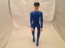 "Sheriff Garret W/ Hat  Marx Action Figure Johnny West Series 11.5"" Tall Vintage"