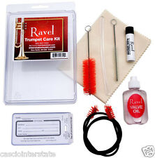 Ravel Trumpet Care Cleaning Kit with Valve Oil, Slide Grease Brush Cloth OP343