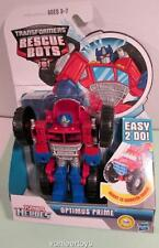 TRANSFORMERS Playskool Heroes Rescue Bots Rescan Optimus Prime Monster Truck New