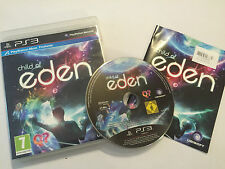 Pal PLAYSTATION 3 PS3 game child of eden + box & instructions/complet pal