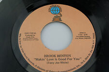 Brook Benton: Makin' Love is Good For You / Better Times  [Unplayed Copy]