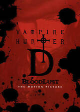 Vampire Hunter: D Bloodlust (DVD, 2015, Region 1) Usually ships in 12 hours!!!