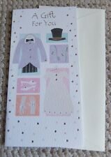 A Gift For You Wedding Outfits Gift / Voucher Card