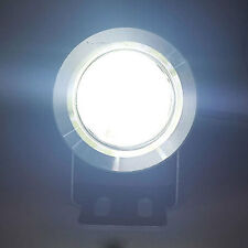 2 SUPERPOTENTI LUCI DIURNE FENDINEBBIA COB DRL LED COOL WHITE 6000K 4W 12-24v