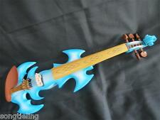 High quality blue color fancy Song art streamline 5 strings 4/4 electric violin