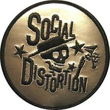 SOCIAL DISTORTION AUFBÜGLER / EMBROIDERY PATCH # 7 - AUFNÄHER