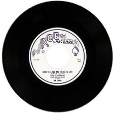 """SUPREMES Featuring HUEY SMITH  """"DON'T LEAVE ME HERE TO CRY""""  DOO WOP / R&B MOVER"""
