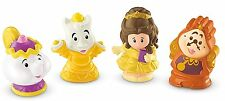 Fisher-price little people-disney princess-belle + friends-neuf, emballé