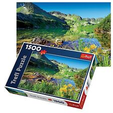 Trefl 1500 Piece Adult Large Wielki Staw Lake Tatras Mountains Jigsaw Puzzle NEW