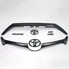 2015-2017 Toyota Camry SE/XSE Gloss Black Out Emblem Overlay Kit - For Smart Key