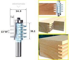 Cone Teeth Joint Wood Panel Joinery Router Bits - 1/2' Shank