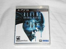NEW Aliens : Colonial Marines Playstation 3 Game PS3 SEALED Sega alien colonal