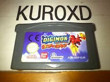 NINTENDO GBA DIGIMON BATTLE SPIRIT PAL GAME BOY ADVANCE