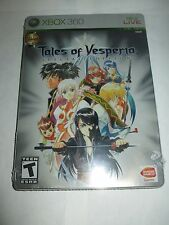 Tales of Vesperia Special Edition (Microsoft Xbox 360, 2008) NEW Factory Sealed
