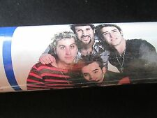 1x Vintage NSYNC Roll Christmas Birthday Gift Wrapping Paper Justin Timberlake