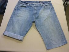 126 MENS EX-COND RIP CURL BOSTON JEAN BLUE DENIM SHORTS 38 $100 RRP.