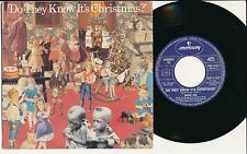 """BAND AID 45 TOURS 7"""" ITALY DO THEY IT'S CHRISTMAS STING GELDOF BOWIE"""