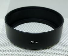 62 mm Metal Lens Hood for 62mm Filter Thread Standard Camera Lens MH-62S