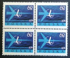 POLAND-STAMPS MNH Fi971 Sc863 Mi1115 - Polish Airlines LOT, 1959 - clean
