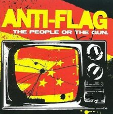 The  People or the Gun by Anti-Flag (CD, Jun-2009, Side One Dummy)