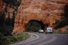 779062 tunnel RED Canyon UTAH USA A4 FOTO STAMPA