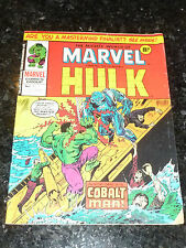 Mighty World of MARVEL Starring the INCREDIBLE HULK - No 182 - Date 27/03/1976