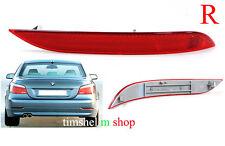 BMW 5 SERIES E60 E61 03-10 NEW REAR BUMPER RIGHT SIDE RED REFLECTOR   E Marked