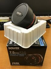 Bower 7.5mm f/3.5 Lens For Micro 4/3 Four Thirds