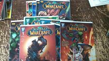 Alternative Comic lot world of warcraft 1-6 8-10 16-19 nm bagged boarded