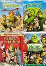 ❏ SHREK Quadrilogy 1 - 4 DVD Set Collection Part 1 2 3 4 + EXTRAS New UK Box ❏