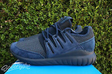 ADIDAS ORIGINALS TUBULAR RADIAL SZ 11.5 COLLEGIATE NAVY MARINE BLACK S76722