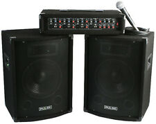 "ASTOUNDED POWERPACK PERFORMER - 200W, 10"", 4 CHANNEL PA SYSTEM"