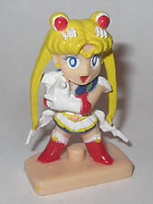 "1995 Bandai Japan Sailor Moon 2"" Usagi Serena PVC Gashapon Mini Figure"