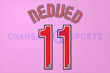 Nedved #11 2007-2008 Juventus Homekit Nameset Printing