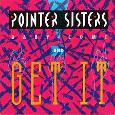 "THE POINTER SISTERS baby come and get it/operator FB49983 uk 1985 7"" PS EX/EX"