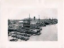 SINGAPOUR c. 1950 - Port Bateaux - DIV 3081