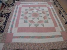 Nice Multi-Color Exploding Star w/Frames Quilt