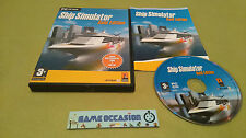 SHIP SIMULATOR GOLD EDITION PC CD-ROM PAL COMPLET