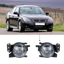 2* Left Right Front Fog Light Lampshade Bulb Cover Set for BMW 5 E60 04-07 Q7X5