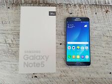 Samsung Galaxy Note 5 | T-Mobile | Factory Unlocked | Grade B | Black Sapphire |