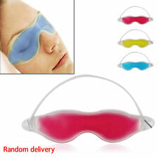 Cold Pack Warm Gel Ice Cool Eye Mask Heat Soothing Tired Eyes Headache Patch