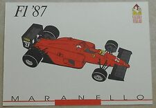 Galleria Ferrari 1993 f1 1987 Scheda Card brochure prospetto book libro Press