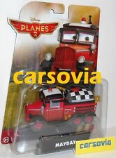 MAYDAY - Planes 2 Disney Pixar Fire & Rescue Red Truck diecast auto Cars Mattel