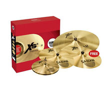 "SABIAN XS20 CYMBAL SET 14 ""Cappelli 16"" & 18 ""Crash 20"" MEDIUM RIDE-sabxs5005bg"